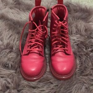 Hot pink Dr.Martens (authentic)